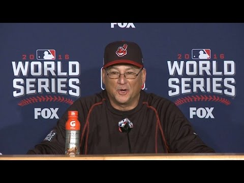 WS2016 Gm7: Francona on emotional Game 7 loss