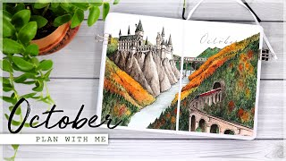 OCTOBER 2020 Plan With Me // Bullet Journal Monthly Setup