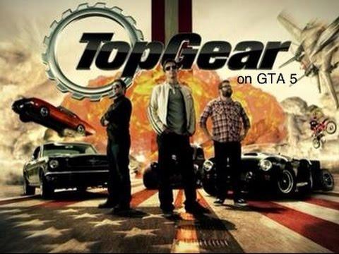 Top Gear USA on GTA5: Season 1 Episode 3- Big Rigs Skills Challange