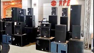 เครื่องเสียงกลางแจ้ง ลำโพงกลางแจ้ง ระบบเครื่องเสียง @นัฐพงษ์ บ้านหม้อ Amplifier Mixer | dadmom