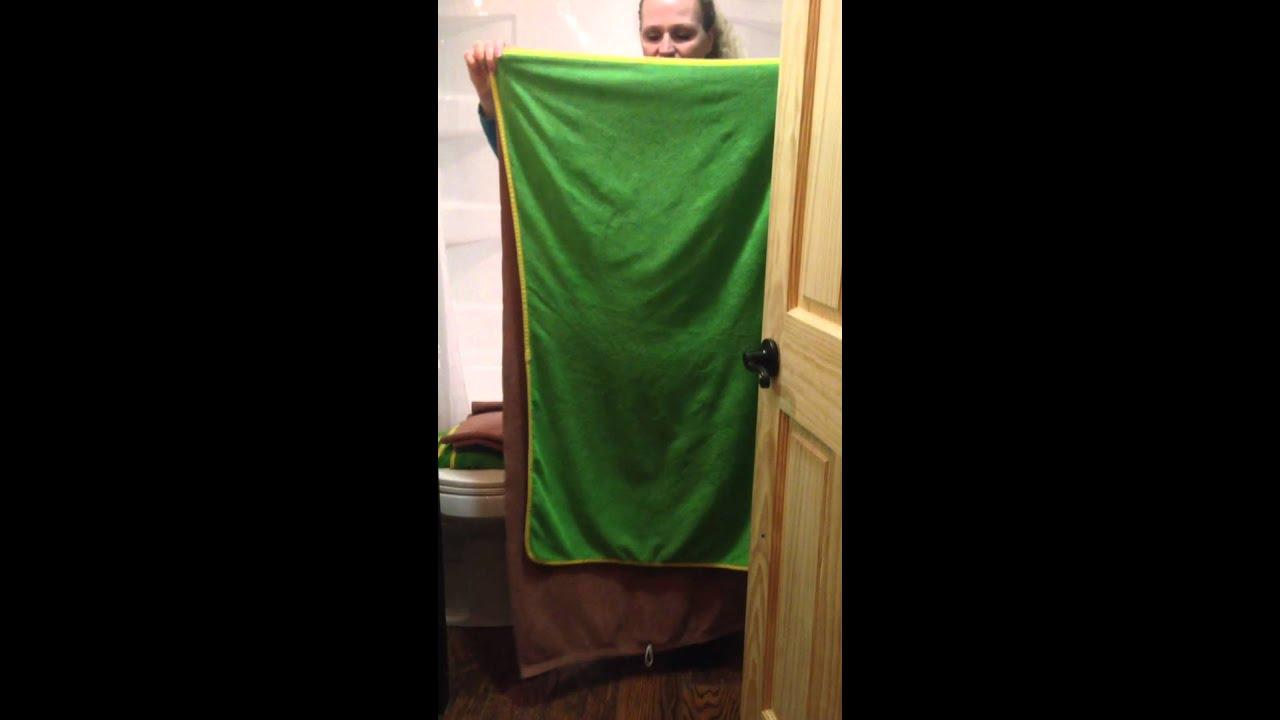 Norwex Bath Towels Fascinating Norwex Bath Towel Demo YouTube