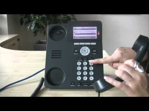 Setting up a conference call - Avaya IP Office 96 series telephone