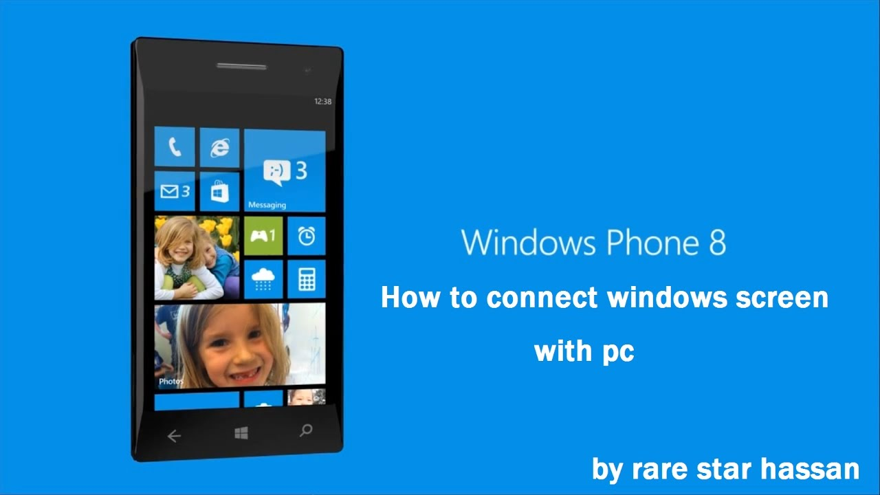 How to connect Lumia to a computer