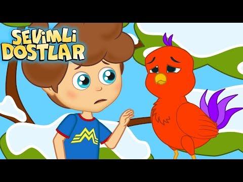 Mini Mini Bir Kuş ve Sevimli Dostlar ile 45 Dakika Çocuk Şarkıları   Kids Songs and Nursery Rhymes