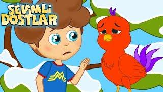Mini Mini Bir Kuş ve Sevimli Dostlar ile 45 Dakika Çocuk Şarkıları | Kids Songs and Nursery Rhymes