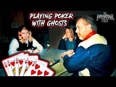 PLAYING POKER WITH GHOSTS (Scary Paranormal Activity Caught on Camera!) | THE PARANORMAL FILES