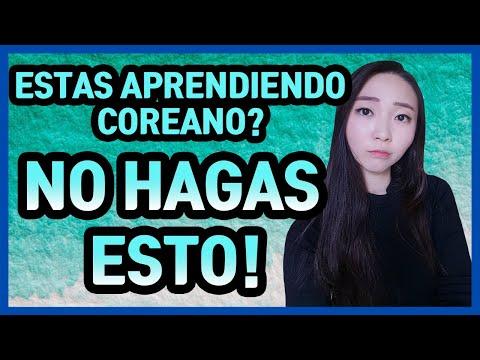 Aprender Coreano Fácil Y Rápido! NO HAGAS ESTO!! | Mi Coreana