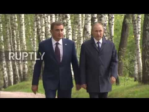 Russia: Putin visits historic home and birthplace of Leo Tolstoy