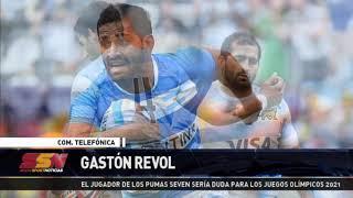 Gastón Revol, jugador de Pumas Seven, sería duda para los JJOO 2021