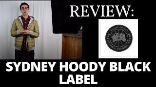 Review: Canada Goose Sydney Hoody Black Label