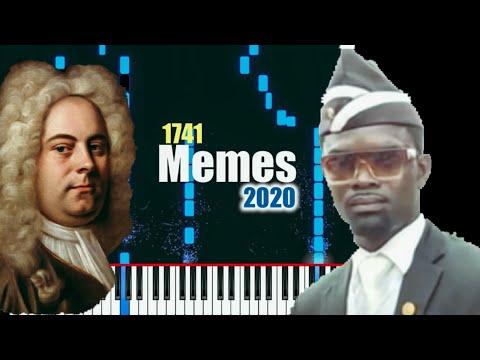 Evolution of Meme Music [1741-2020] (34 memes)