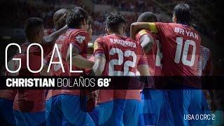 MNT vs. Costa Rica: Christian Bolaños Goal - Nov. 15, 2016