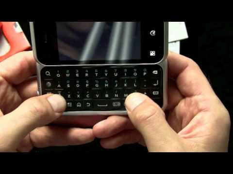 Motorola Backflip (AT&T) - Unboxing and Hands-On