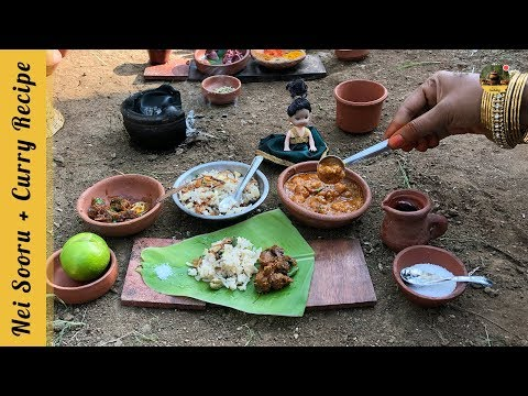 Ghee Rice + Country Chicken Curry + Liver Fry Recipe | E#79 | Miniature Cooking Show