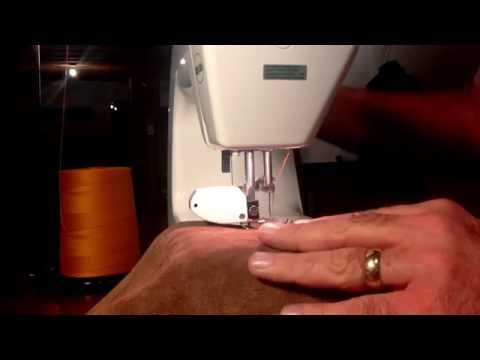 Sewing Leather on a Baby Lock BL9