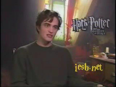 Robert Pattinson Harry Potter Interview Part1 - YouTube