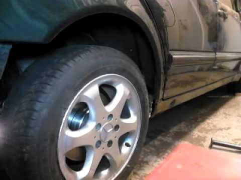 Mercedes s210 hydraulic test