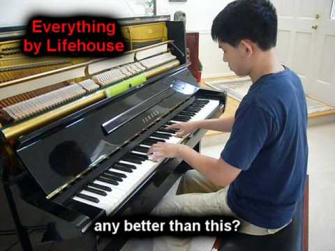 Everything - Lifehouse (Piano)