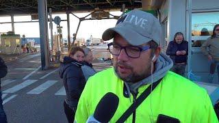 Trieste, il portavoce dei portuali no Green Pass: