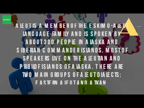 What Is The Aleut Language?