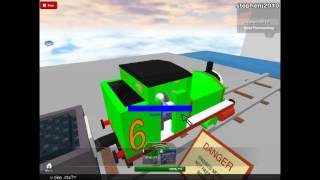 Roblox Thomas Comes To Breckfast Percy Takes A Plunge Off The Rails