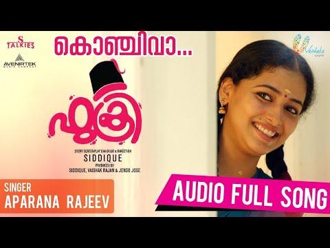 Fukri Malayalam Movie | Konchi Vaa Audio Song (Female ) | Jayasurya,Prayaga Martin , Anu Sithara