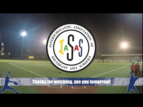IASAS BASEBALL 2018 - DAY 1