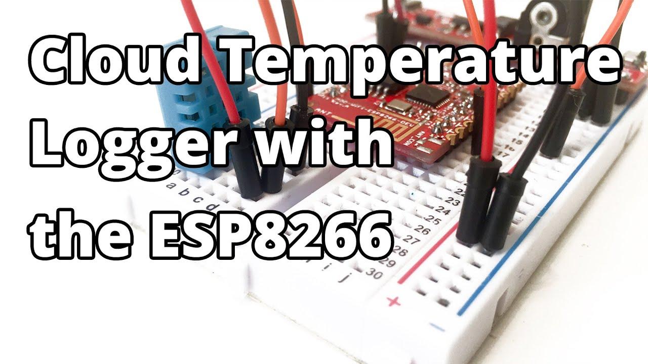 Cloud Temperature Logger with the ESP8266