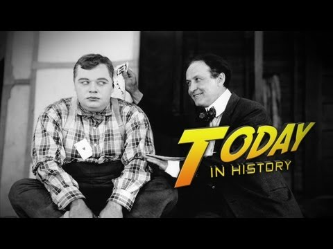 Today In History: SILENT FILM STAR COMMITS MURDER!