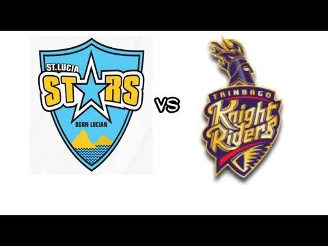 St Lucia Stars vs Trinbago Knight Riders Live Streaming