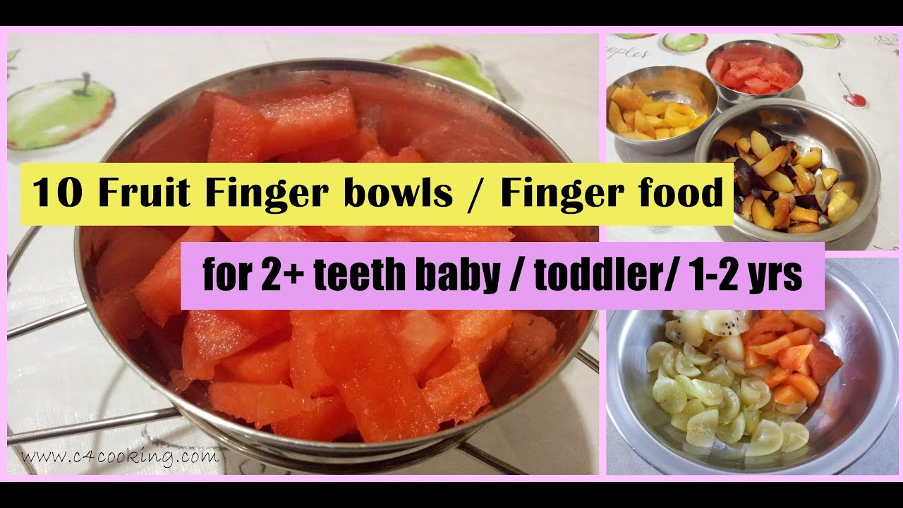 10 fruit finger bowls finger food for 2 teeth baby toddler 10 fruit finger bowls finger food for 2 teeth baby toddler 1 2 year baby fruit snacks youtube forumfinder Gallery