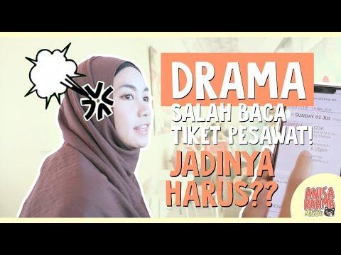 #VLOG 78 - DRAMA SALAH BACA TIKET PESAWAT! JADINYA HARUS?? || Anisa Rahma