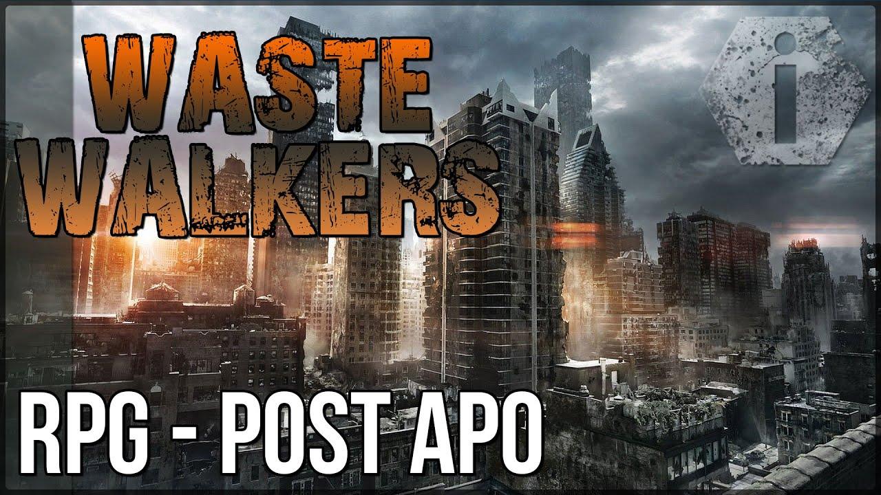 Waste walkers fr gameplay d 233 couverte le rpg survival youtube