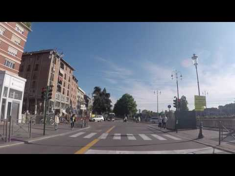 Italie Parme Centre ville, Gopro / Italy Parma City center, Gopro