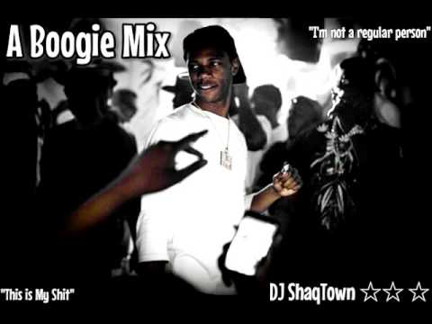 "A Boogie Mix Ft ""My Shit, Bag On Me, Jungle and Many More!!!"" By DJ ShaqTown"