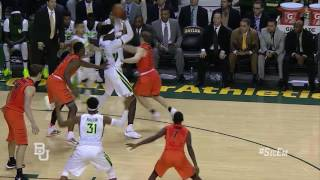 Baylor Basketball (M): Highlights vs. Oklahoma State