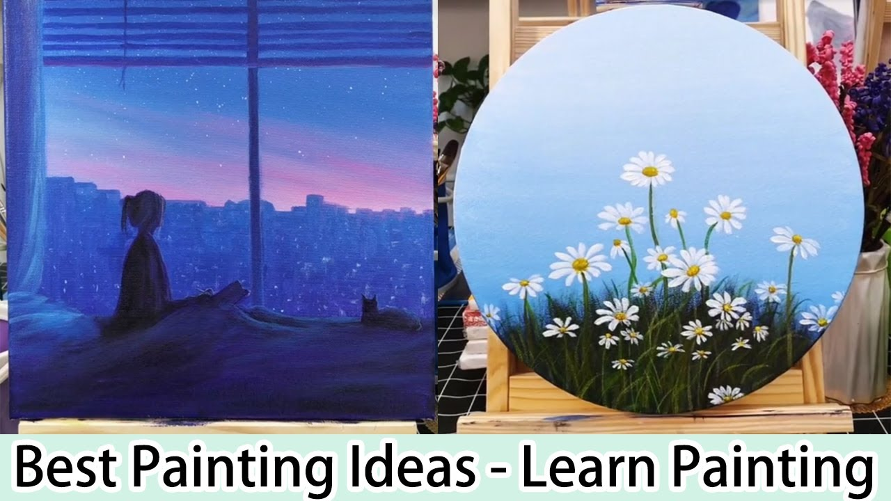 14 Best Painting Ideas Learn How To Drawing Step By Step Youtube