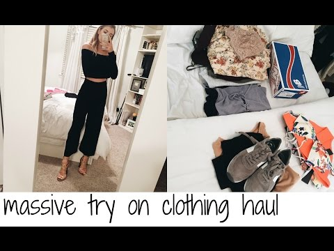 MASSIVE TRY ON CLOTHING HAUL: UO, LULUS, BRANDY MELVILLE, & MORE!