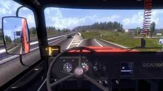 euro truck simulator 2 scania 111s com meu amigo edu logitech g25