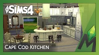 The Sims 4 Room Building - Cape Cod Kitchen