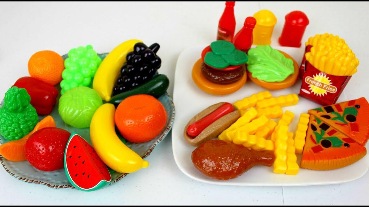 Juguetes Comida de Juguete para Cocinita Kitchen Toys