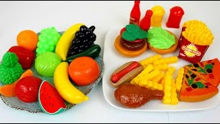 Juguetes Comida de Juguete para Cocinita Kitchen Toys Playset