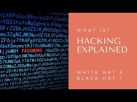 What Is Hacking | Black Hat & White Hat Hackers Explained | Hindi