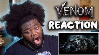 VENOM - Official Trailer 2 : REACTION!!