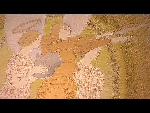 Oeil d'expert : La Vision et l'inspiration de Jeanne d'Arc (1911) de Maurice Boutet de Monvel