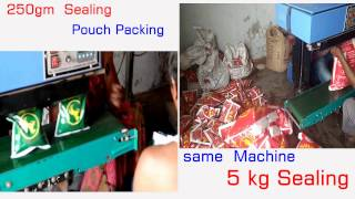 Copy of 1gm to 5 kg,organic food,tea ,pulses & grains, bhog atta sealing packing machine