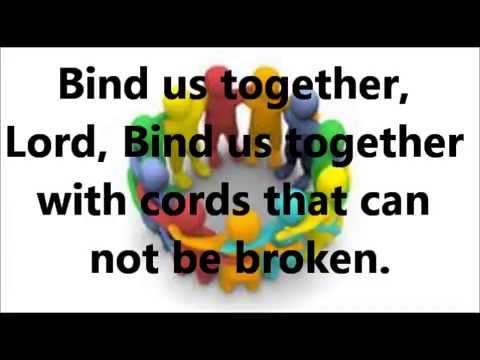 Bind Us Together piano with lyrics