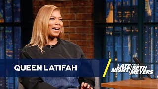 Queen Latifah Bought a Gold Tooth with Her First Paycheck
