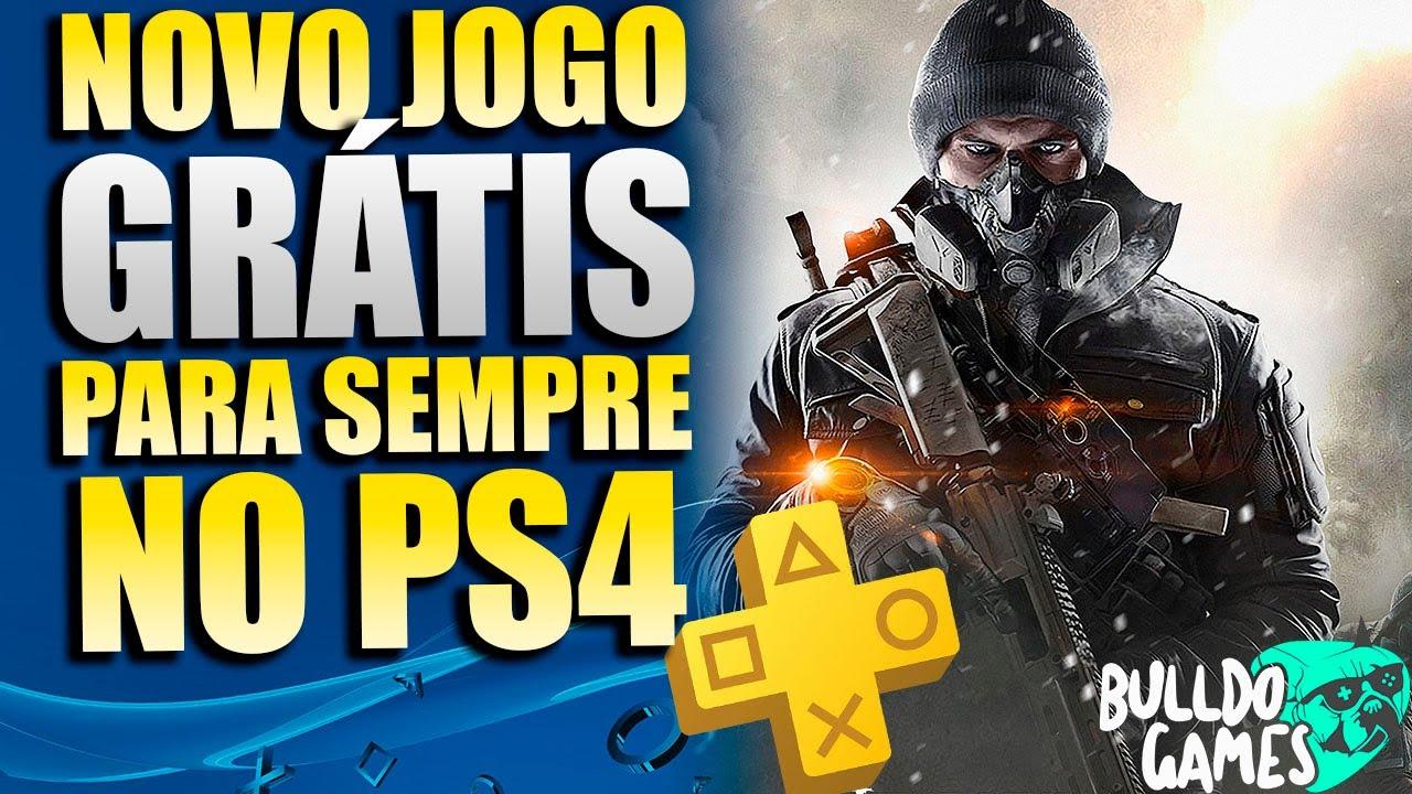 NOVO JOGO GRÁTIS PARA SEMPRE NO PS4 e PS5 !!! E NOVA PROMOÇÃO COM JOGOS PELA METADE DO PREÇO !!!