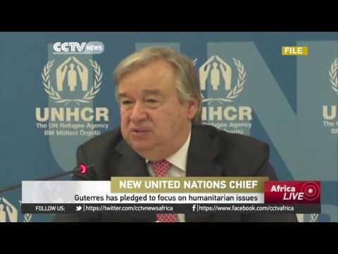 Antonio Guterres to be sworn in as new UN Secretary-General